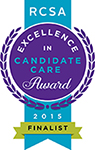 RCSA 2015 Candidate Care Award finalist