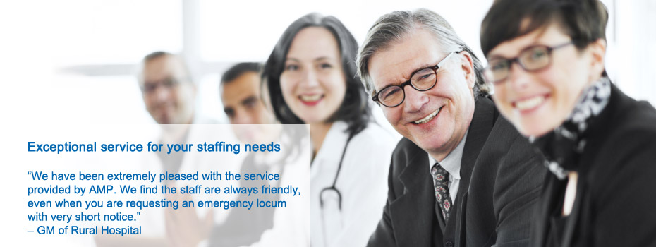 Exceptional service for your staffing needs, Locum Agency